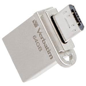 USB3.0-Stick 64GB Verbatim Store´n´Go OTG VERBATIM 49827