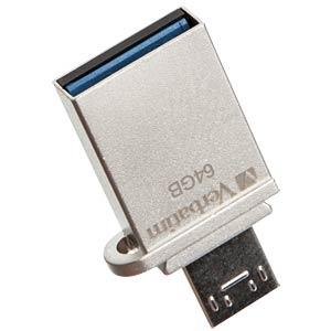 USB-Stick, USB 3.0, 64 GB, Store´n´Go OTG VERBATIM 49827