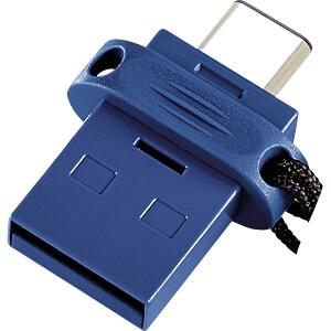 USB-stick, USB 3.0, 16 GB, USB-C OTG Dual Drive VERBATIM 49965