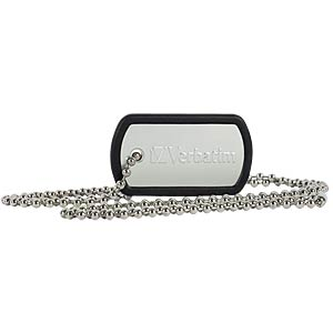 USB 2.0 stick, 16 GB Verbatim dog tag VERBATIM 98671