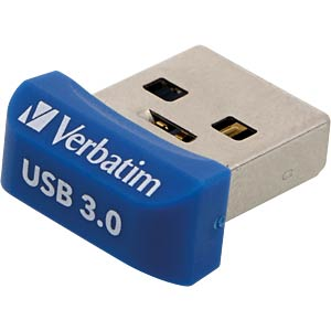 USB-Stick, USB 3.0, 64 GB, Store n Stay NANO VERBATIM 98711