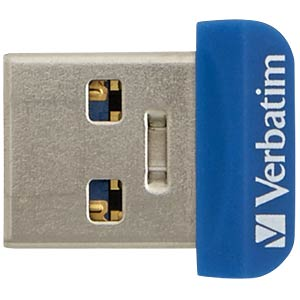 USB-Stick, USB 3.0, 32 GB, Store n Stay NANO VERBATIM 98710