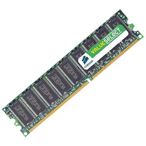 1024 MB DDR 333 MHz 184-pin Corsair CORSAIR VS1GB333