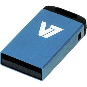 USB-Stick, USB 2.0, 8 GB, Nano V7 VU28GCR-BLU-2E