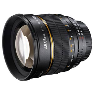 Lens, 85 mm, for Canon EF WALIMEX 15796