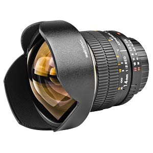 Lens, 14 mm, for Canon EF WALIMEX 16482