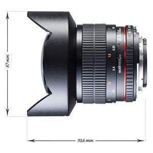 Objektiv, Foto, 14mm, Nikon F AE WALIMEX 16962