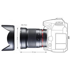 MF-Objektiv, 24 mm, für Canon WALIMEX 18331
