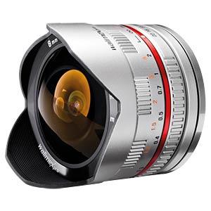 Fisheye-Objektiv, 8 mm, für Sony E WALIMEX 18334