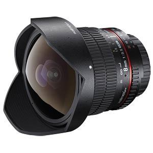MF Lens, 8mm, for Nikon WALIMEX 18699