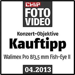Objektiv, Foto, 8mm, MF, Nikon WALIMEX 18699
