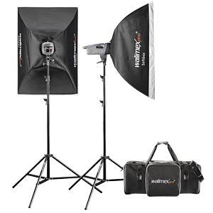 Studio set with flash lights WALIMEX 20028