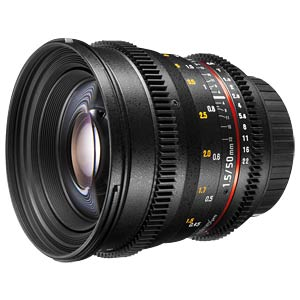 Video lens, 50 mm, for Sony E WALIMEX 20408
