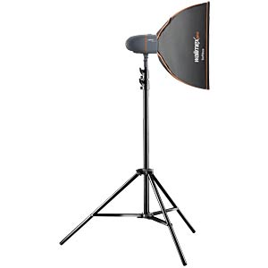 Studio set: studio flash, tripod, umbrella softbox WALIMEX 21323