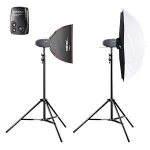 Studio-Komplettset für professionelle Porträtfotos WALIMEX 21326