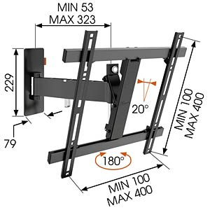 LCD Wandhalter VOGELS 73201985