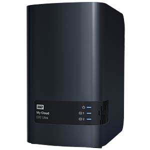 NAS-Server My Cloud EX2 Ultra Leergehäuse WESTERN DIGITAL WDBVBZ0000NCH-EESN