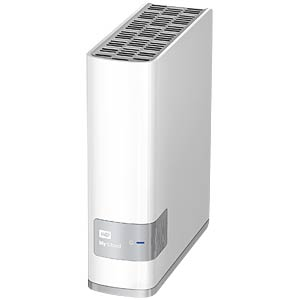 WD My Cloud 1-bay NAS 3 TB capacity WESTERN DIGITAL WDBCTL0030HWT