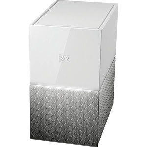 NAS-Server My Cloud Home Duo 12 TB WESTERN DIGITAL WDBMUT0120JWT