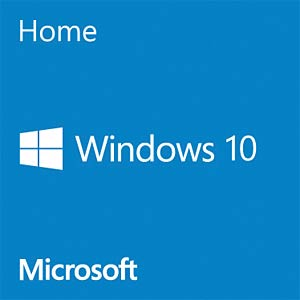 Software, Windows 10 Home, 64 Bit, englisch (COEM) MICROSOFT KW9-00139