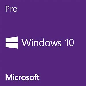 Windows 10 Pro, 64 Bit, deutsch (COEM) MICROSOFT FQC-08922