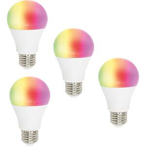 Smart Light, E27, RGBW, EEK A++, WLAN, 4er Pack WOOX R4553-4PACK