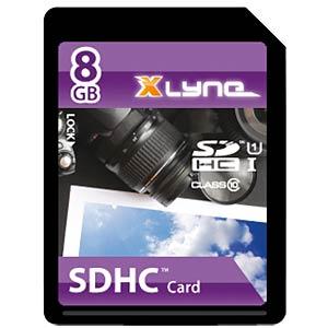 SDHC card 8GB, xlyne - class 10 XLYNE 7308000