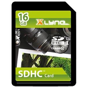 SDHC-Card 16GB, xlyne - Class 10 XLYNE 7316000