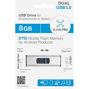 USB3.0-Stick 8GB xlyne Dual