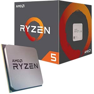 AMD AM4 Ryzen 5 1400, 4x 3.20GHz, boxed AMD YD1400BBAEBOX