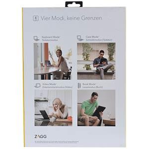 Tablet-Tastatur für iPad Pro 12.9 ZAGG ID7ZF2-BBG