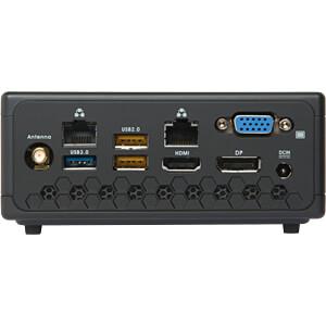 PC-Komplettsystem, Intel Celeron N3450, 4GB, SSD ZOTAC ZBOX-CI327NANO-BE-W3B