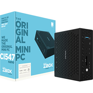 Barebone PC ZOTAC ZBOX-CI547NANO-BE
