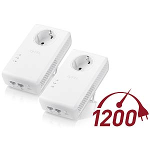 AV2000 HomePlug AV2 Powerline 2-port Gigabit ZYXEL PLA5456-EU0201F