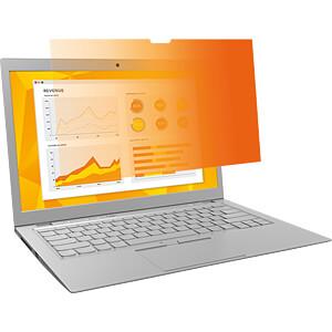 Blickschutzfilter, 13,3 Laptop, 16:9, gold 3M ELEKTRO PRODUKTE 98044054991