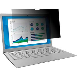 Blickschutzfilter, 10,1 Laptop, 16:9, schwarz 3M ELEKTRO PRODUKTE 98044054231