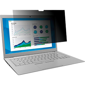 Blickschutzfilter, 13,3 Laptop, 16:9, schwarz 3M ELEKTRO PRODUKTE 98044054314/ 7000014516