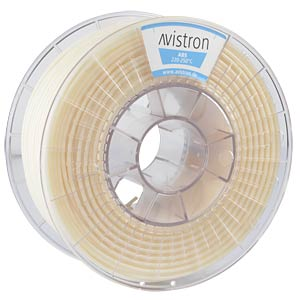 ABS Filament - 2,85 mm - transparent - 1 kg AVISTRON AV-ABS285-TR