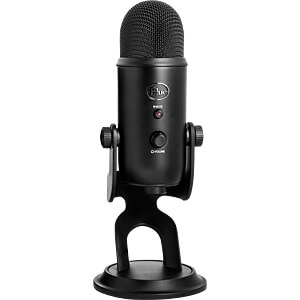 Microfoon, USB, Yeti, blackout BLUE MICROPHONES 2070