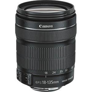 CANON 6097B013AA - Objektiv: EF-S 18-135 IS STM + EW-73B +LC KIT
