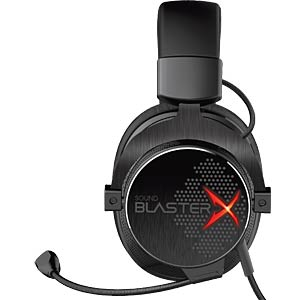 Headset, Klinke, Gaming, Stereo, Sound BlasterX H7, Over-Ear CREATIVE 70GH033000001