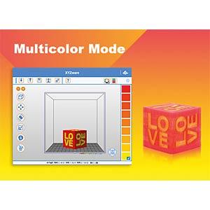 3D Drucker, da Vinci Jr. 2.0 Mix XYZPRINTING 3F2JWXEU00F