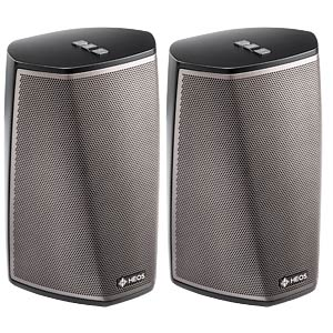 Wireless speakers with Wi-Fi®/Bluetooth - 2 pcs DENON HEOS1DUOPACKBKE2