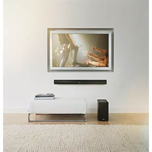Wireless soundbar with Wi-Fi® DENON HEOSHCBKE2