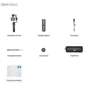 Gimbal, Smartphone, 300° Rotation, schwarz DJI
