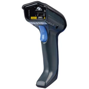 Handheld Scanner, 1D, Laser, RS232, USB, IBM DATALOGIC GD4310-BK