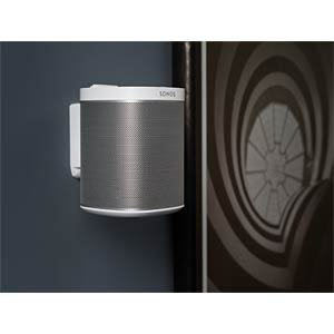 Wall Mount for SONOS PLAY:1 - White (Single) FLEXSON FLXP1WB1011