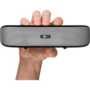 Lautsprecher, PC/Laptop, USB, SoundBar GOOBAY 95041