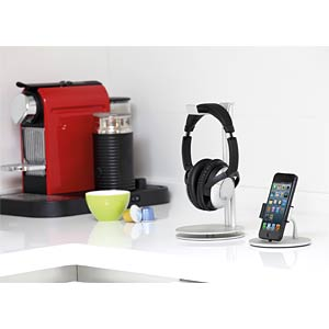 Desktop stand for headsets/headphones JUST MOBILE HS-100
