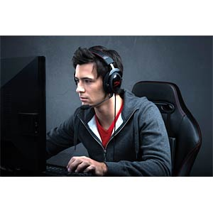 Over ear headset - gaming - black HYPERX KHX-H3CL/WR